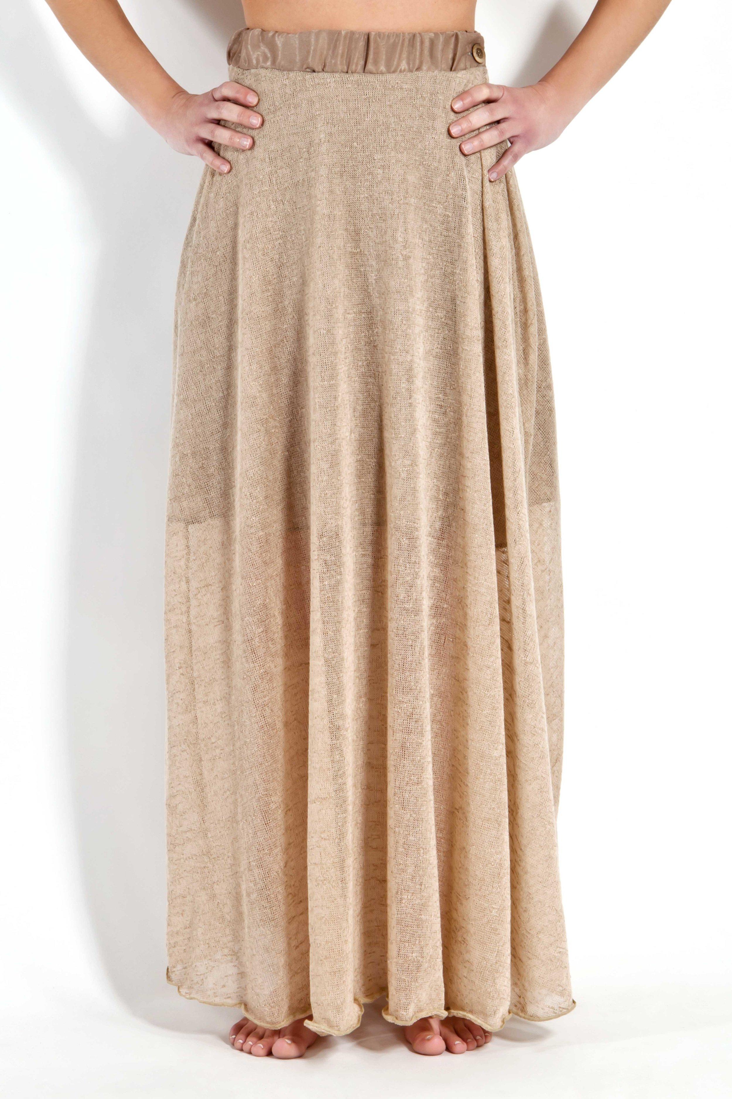 Camel Gauge Skirt