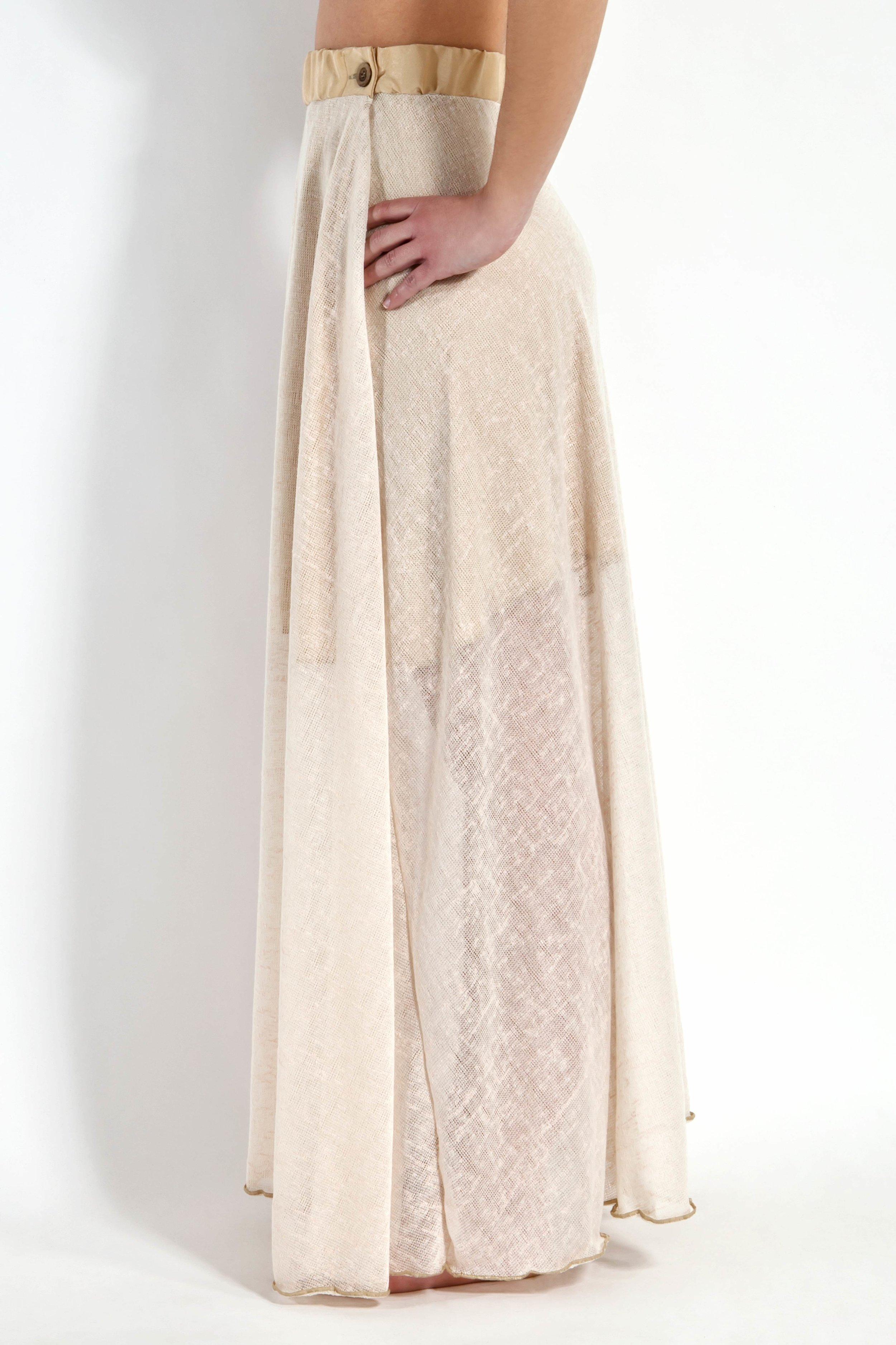 Ecru Gauge Skirt