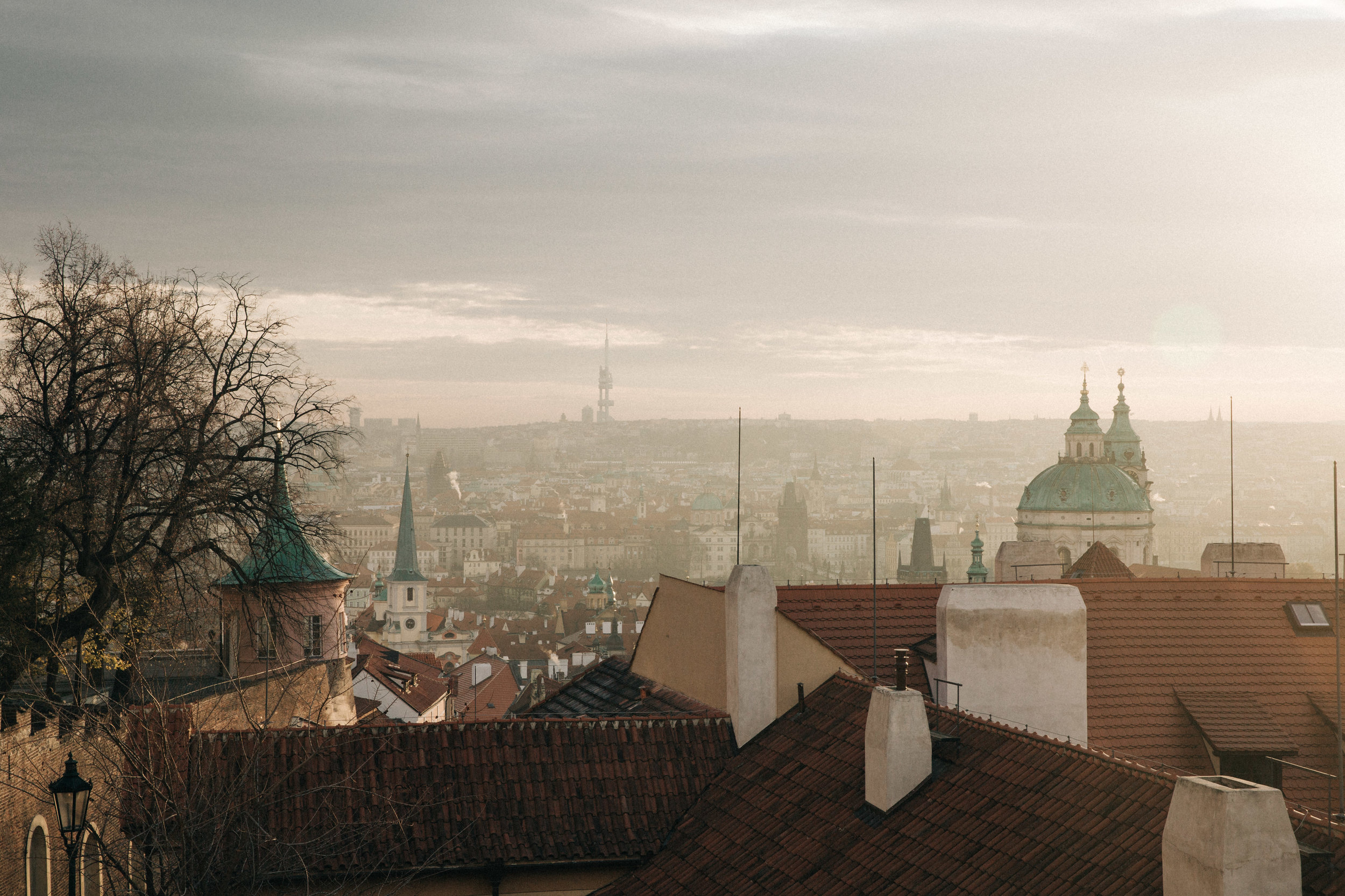 Made it to Prague!! - two-ish weeks ago