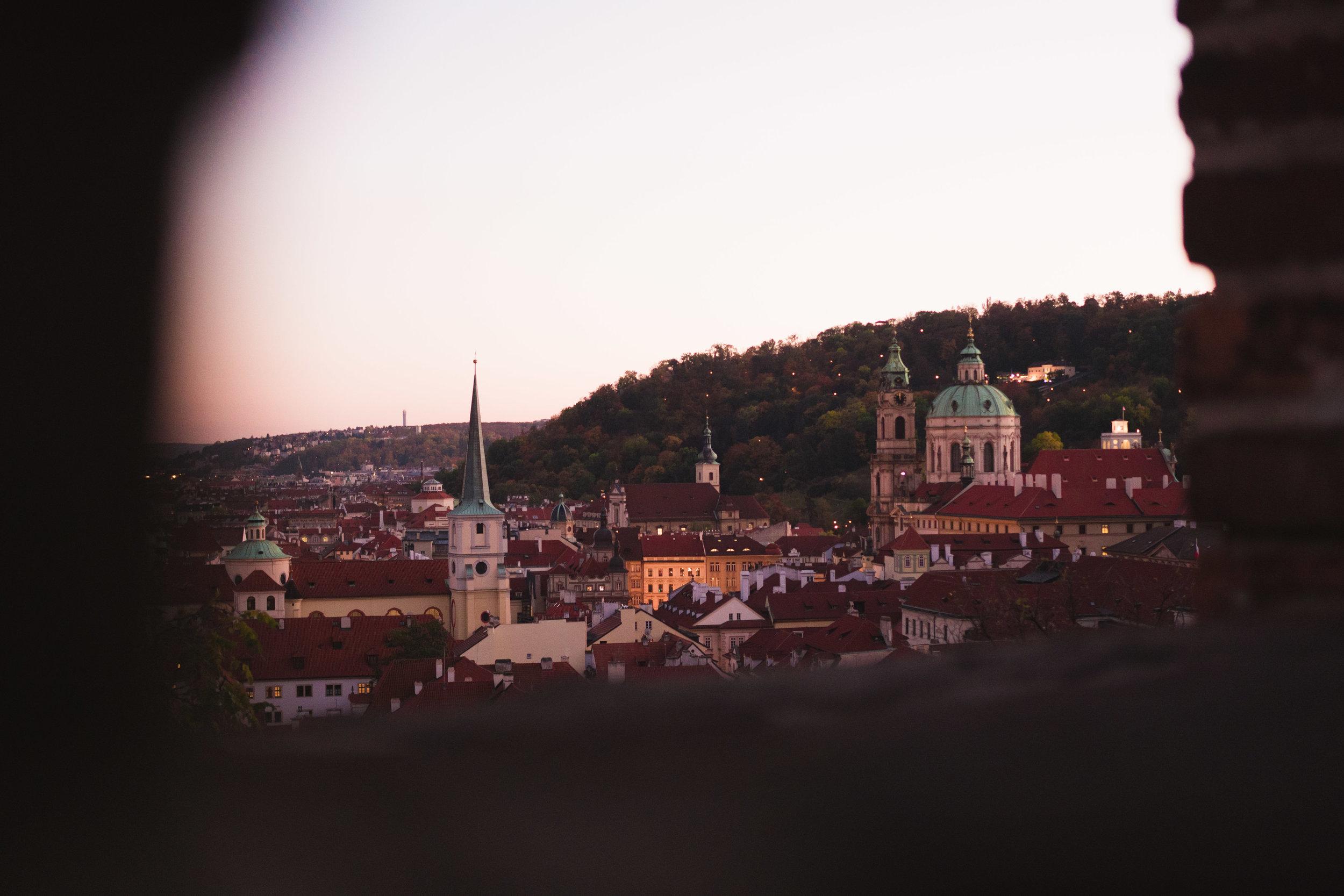 E V E N I N G - in Prague, Czech Republic