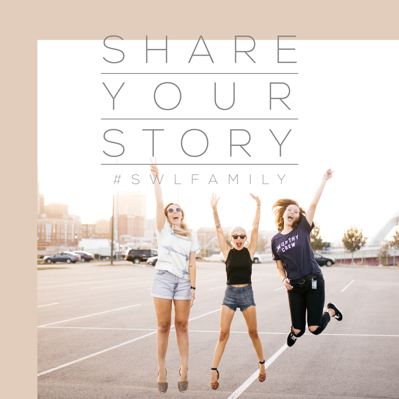 Hey you! Yeah, you. We want to hear your story.   The #swlfamily is built upon finding commonalities in struggle + then growing in that together. By choosing to be vulnerable you are allowing others an opportunity to grow, to heal.  If you are interested in sharing your story email submissions@soworthloving.com or send it to our Tumblr inbox!