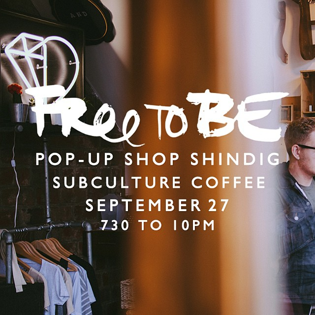 ANOTHER STOP THIS WEEKEND?!    Of course!    West Palm Beach , we are going to be invading your space with love and apparel to match!     Be at   Subculture Coffee   on Saturday, September 27th from 7:30-10PM!      509 Clematis St     West Palm Beach, FL 33401    See you there!