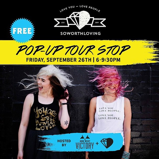 Savannah, Ga:  W E A R E C O M I N G F O R Y O U    Be around on the  26th  of this month, and come hang with us!   We will be partying it up pop-up show style at  One West Victory , and it's   free   to get in!   So get your get your arms ready because we are so stoked to hug and get to know you guys!