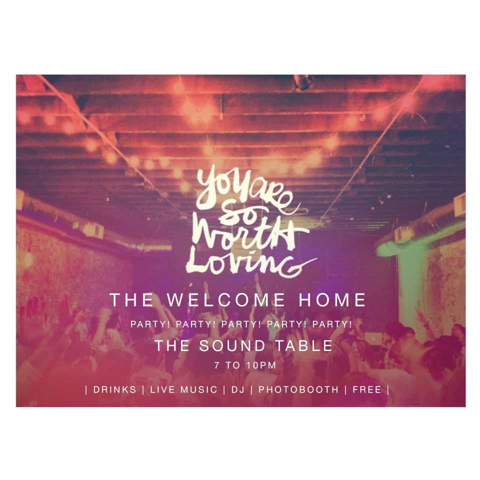 DON'T FORGET ABOUT TOMORROW       We can't have the perfect welcome home party without  you  there!      There's going to be a photo-booth + pop up shop + drinks + live music (  Evan Andree @evanandree) + DJ (Gmack @partywithgmack  )      Also yummy treats by  @kindsnacks & @soydivisionvegan          Our stomachs have to enjoy the party too!          So be there! This night is   free  + centered around thanking  Atlanta  for launching us out for our 14 city tour +  sharing what we've learned, the stories that we collected, and   what is next.         Location: The Sound Table (our van will be parked out front!)   Address: 483 Edgewood Avenue, Atlanta Georgia   Time:   7 to 10pm         Event Invite Here!         We love you and can't wait to celebrate tomorrow!