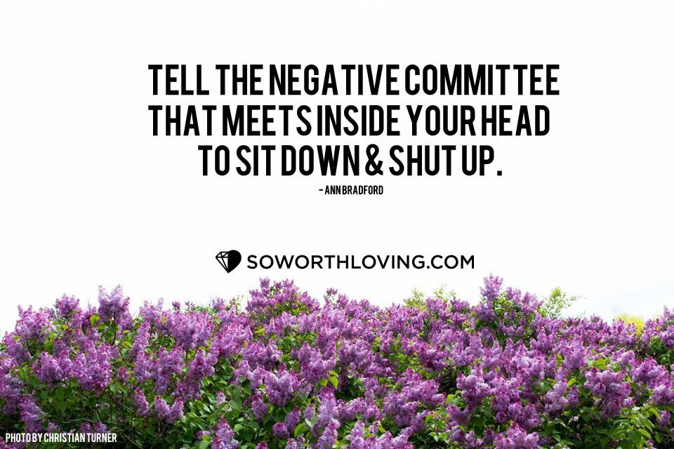 tell them to sit down, and shut up.