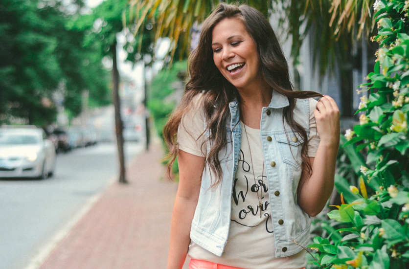 """""""Ribbons and Curls"""" tee will make your closet happy  :)      http://shop.soworthloving.com/"""