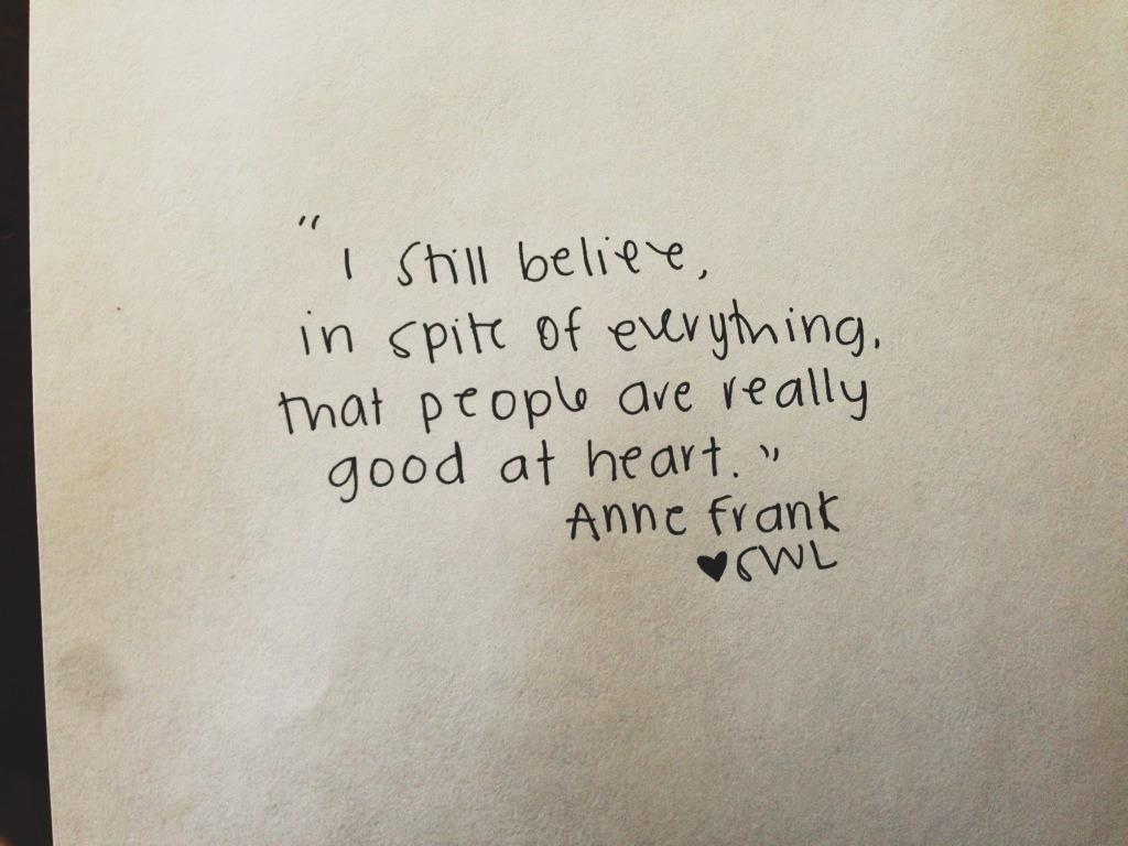 We still believe it too.