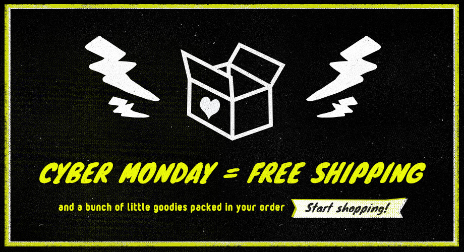 Cyber Monday + New Items + Anniversary = PARTY!!!!