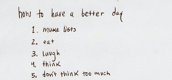 how to have a better day..