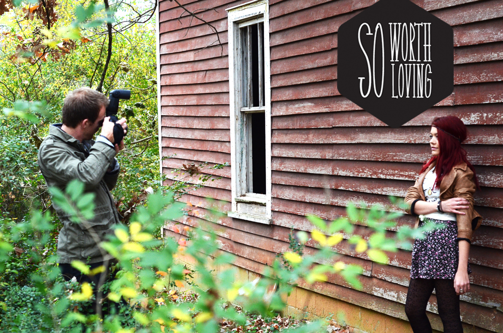 "here is a behind the scenes ""sneak peek"" of our photo-shoot from this weekend!"
