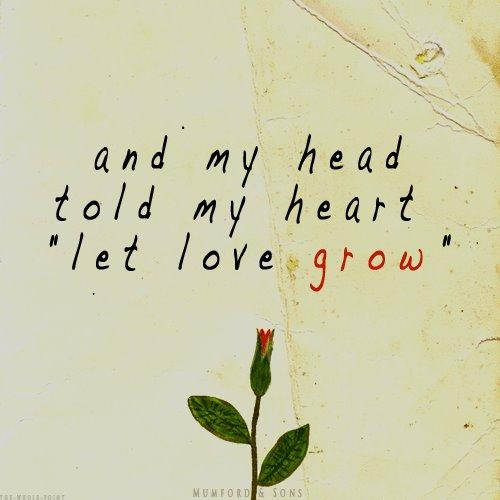 let it grow…