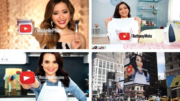 Just a few millionaire YouTubers—a career that didn't exist a decade ago.
