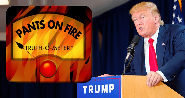 Poltifact Lie of the Year 2015 - http://www.politifact.com/truth-o-meter/article/2015/dec/21/2015-lie-year-donald-trump-campaign-misstatements/