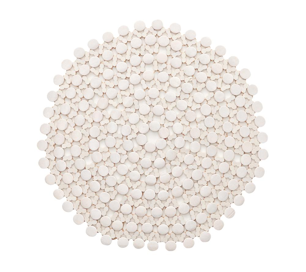 Kim Seybert Bamboo Placemat, White