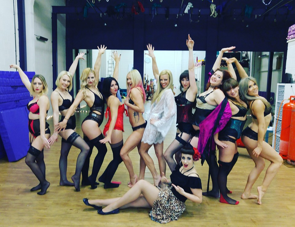 Burlesque workshop 2016
