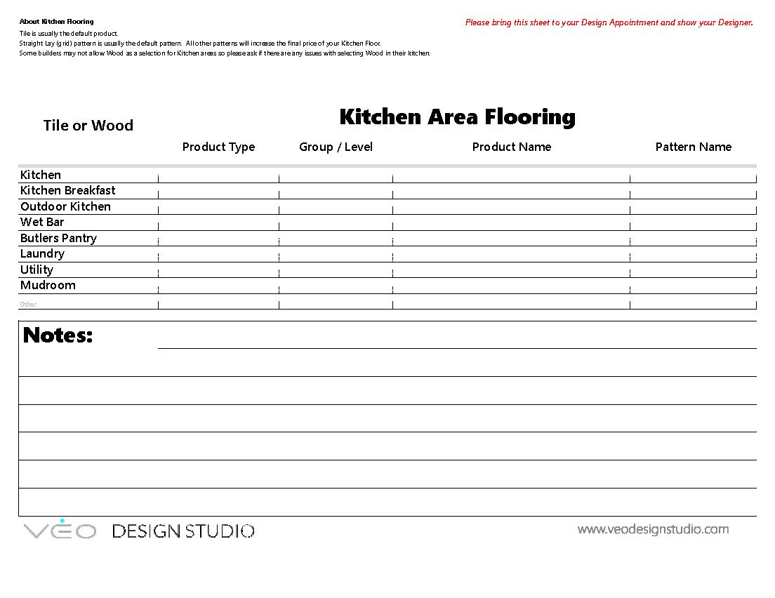 Worksheets — VEO Design Studio Training