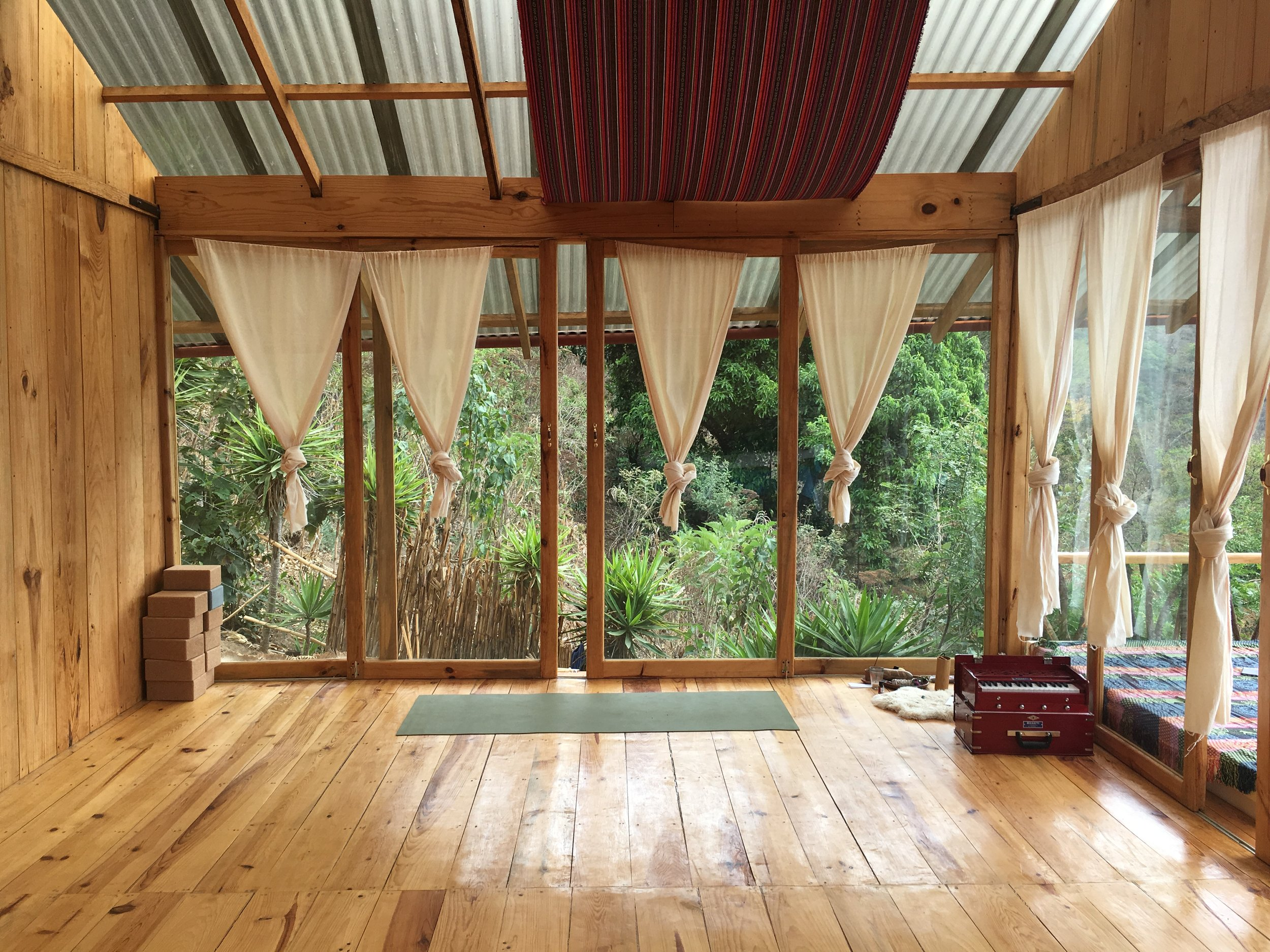 Beautiful room for Yoga