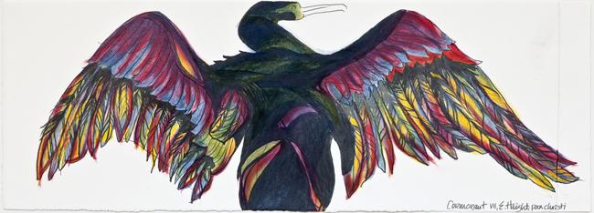 """Cormorant VII, 25"""" x 72"""""""