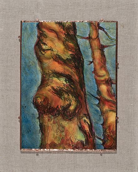 "Arborvitae VIII, 19.5 x 16"""