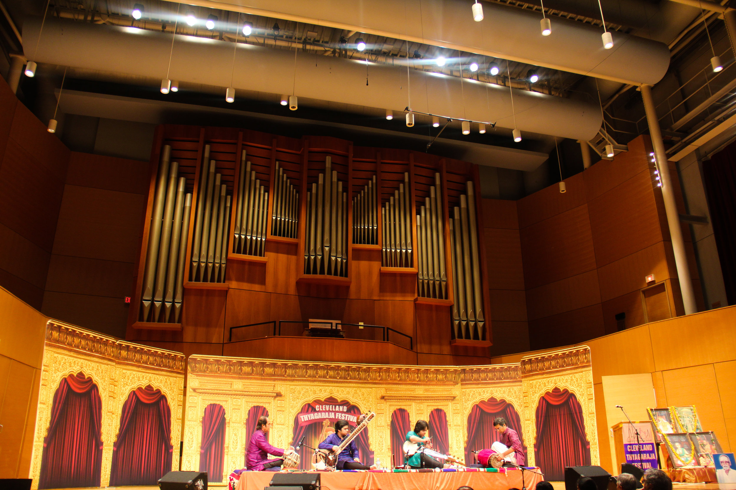 World's largest South Indian Music Festival at Waetjen Auditorium, Cleveland, USA in 2015