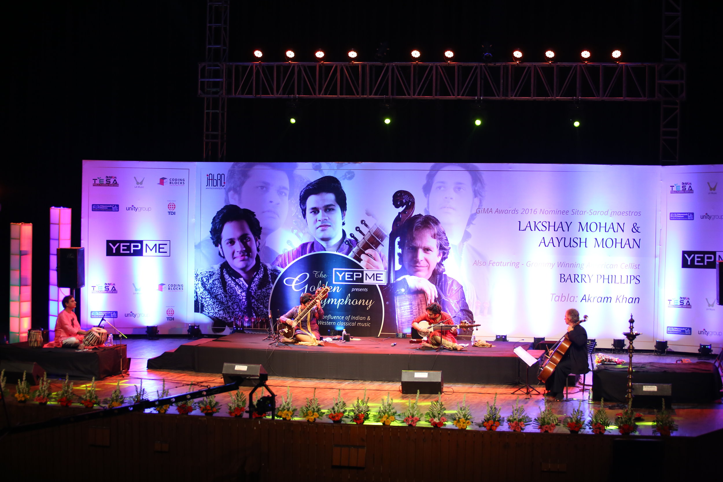 Lakshay & Aayush Mohan at the Sirifort Auditorium, New Delhi
