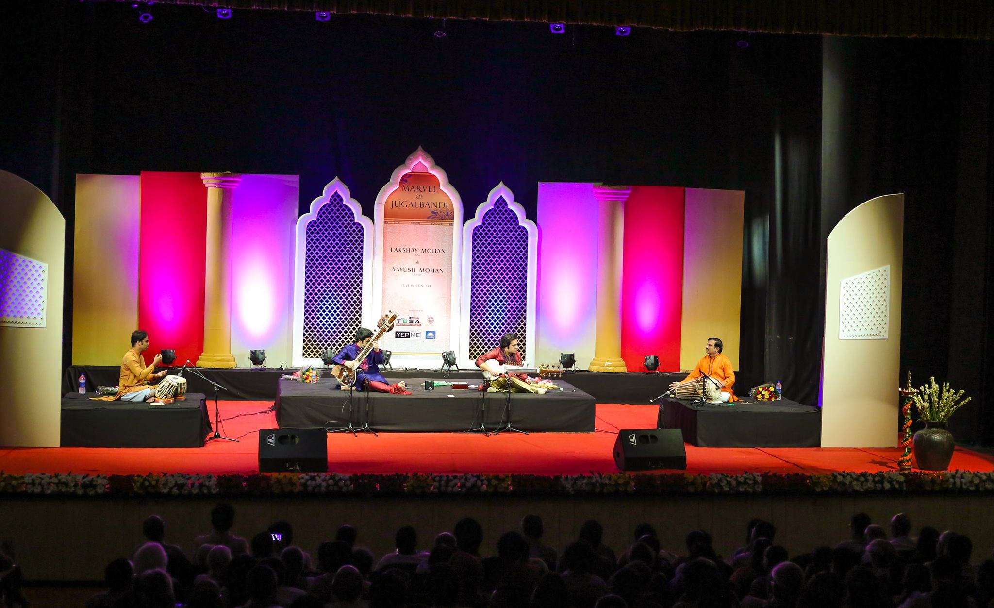 The Marvel of Jugalbandi Concert in Delhi at the Kamani Auditorium.