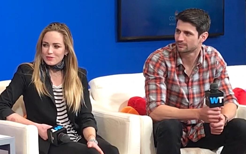 SXSW Comcast Interview - Comcast interviewed Caity Lotz + James Lafferty about STC.