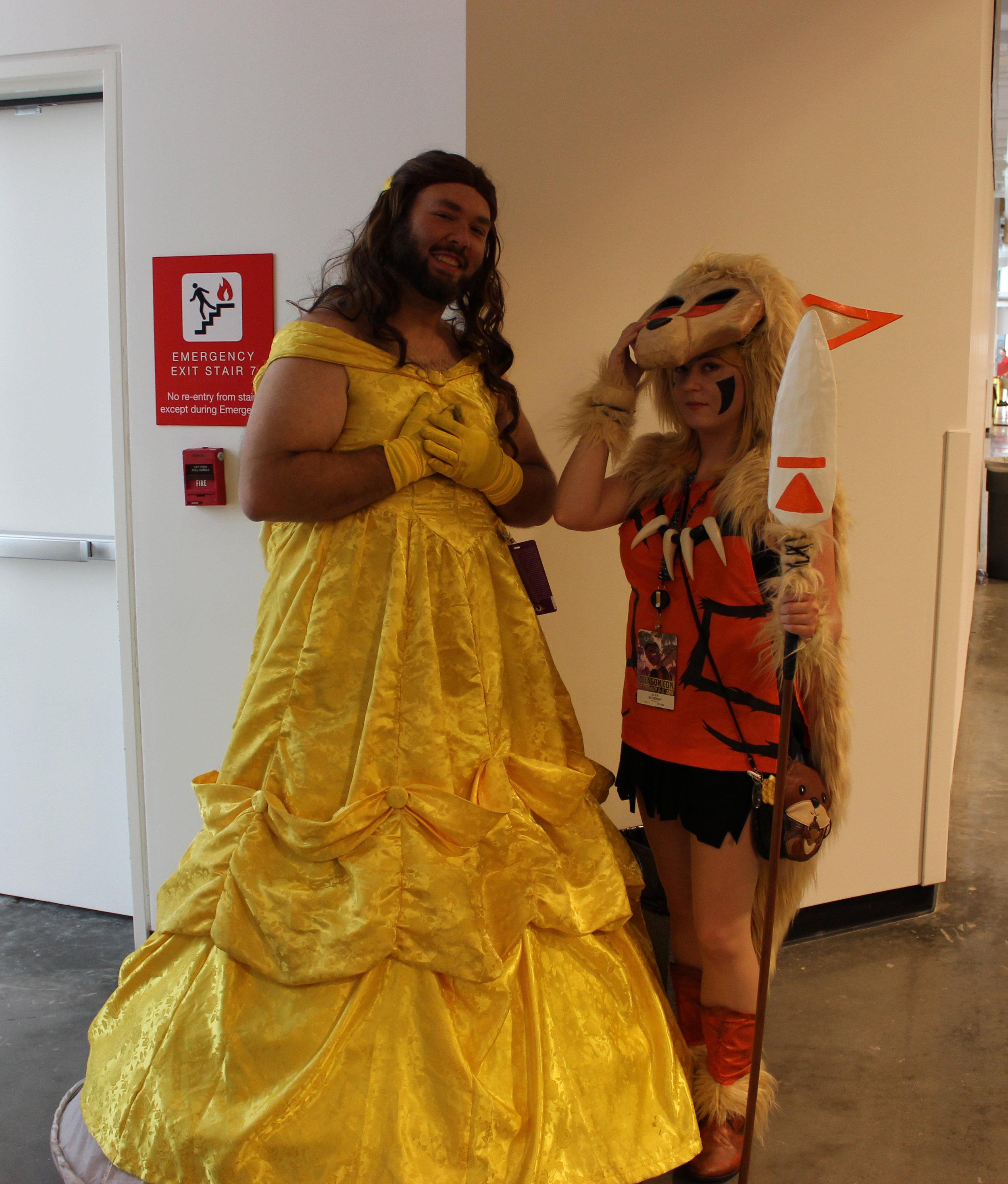 Man-Belle and Princess Mononoke/Arcanine Mix