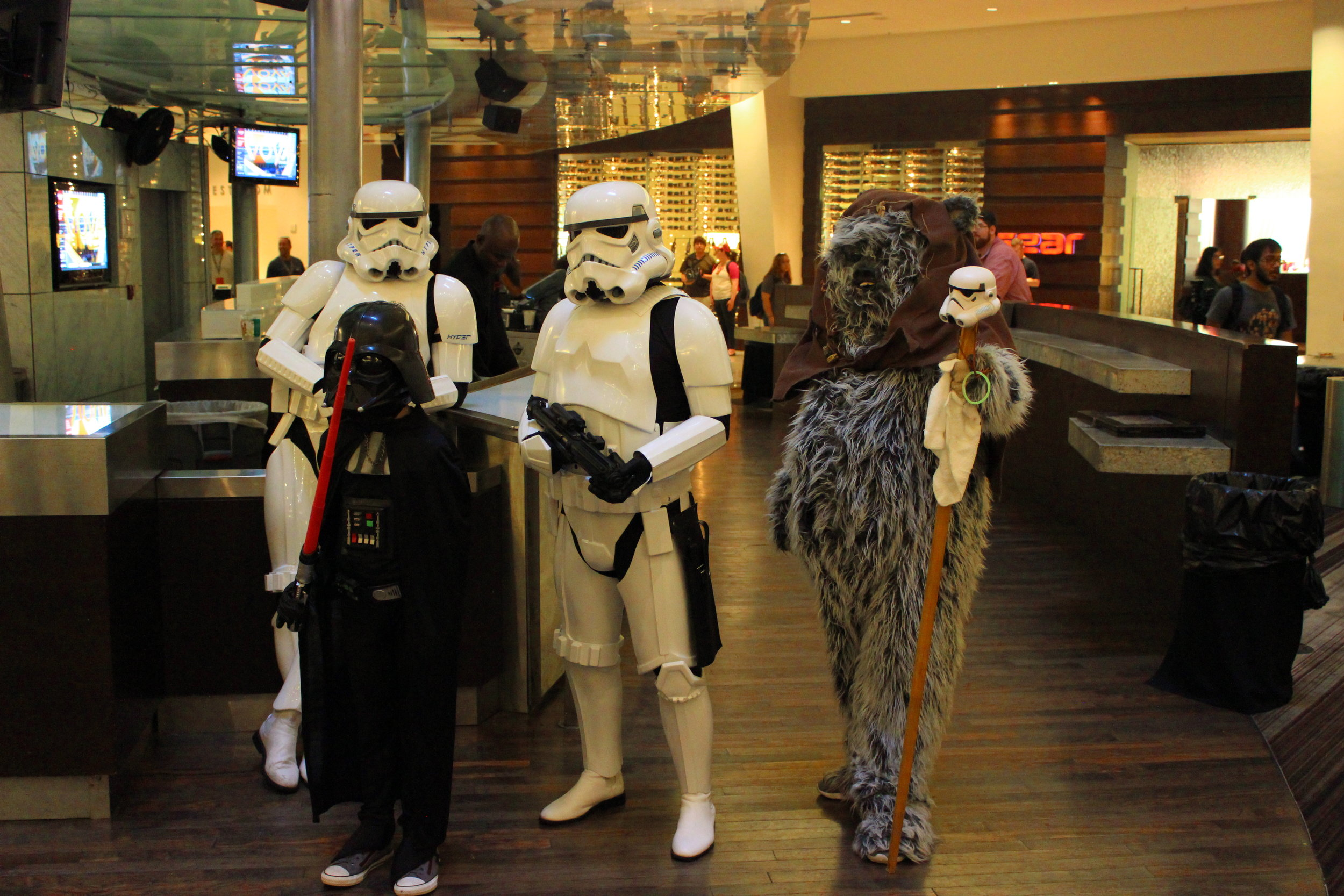 Star Wars Characters Assemble