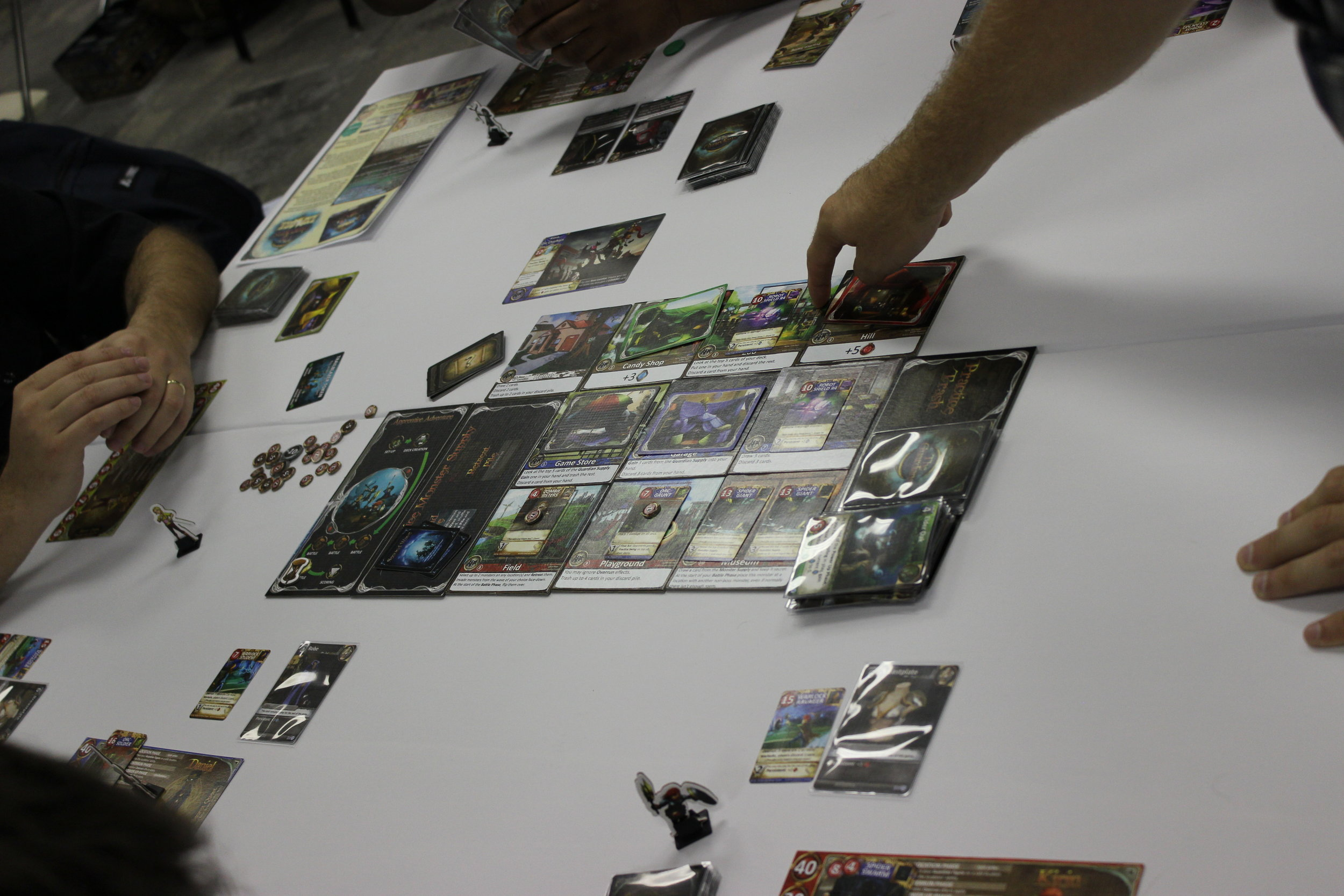 The Guardians being played