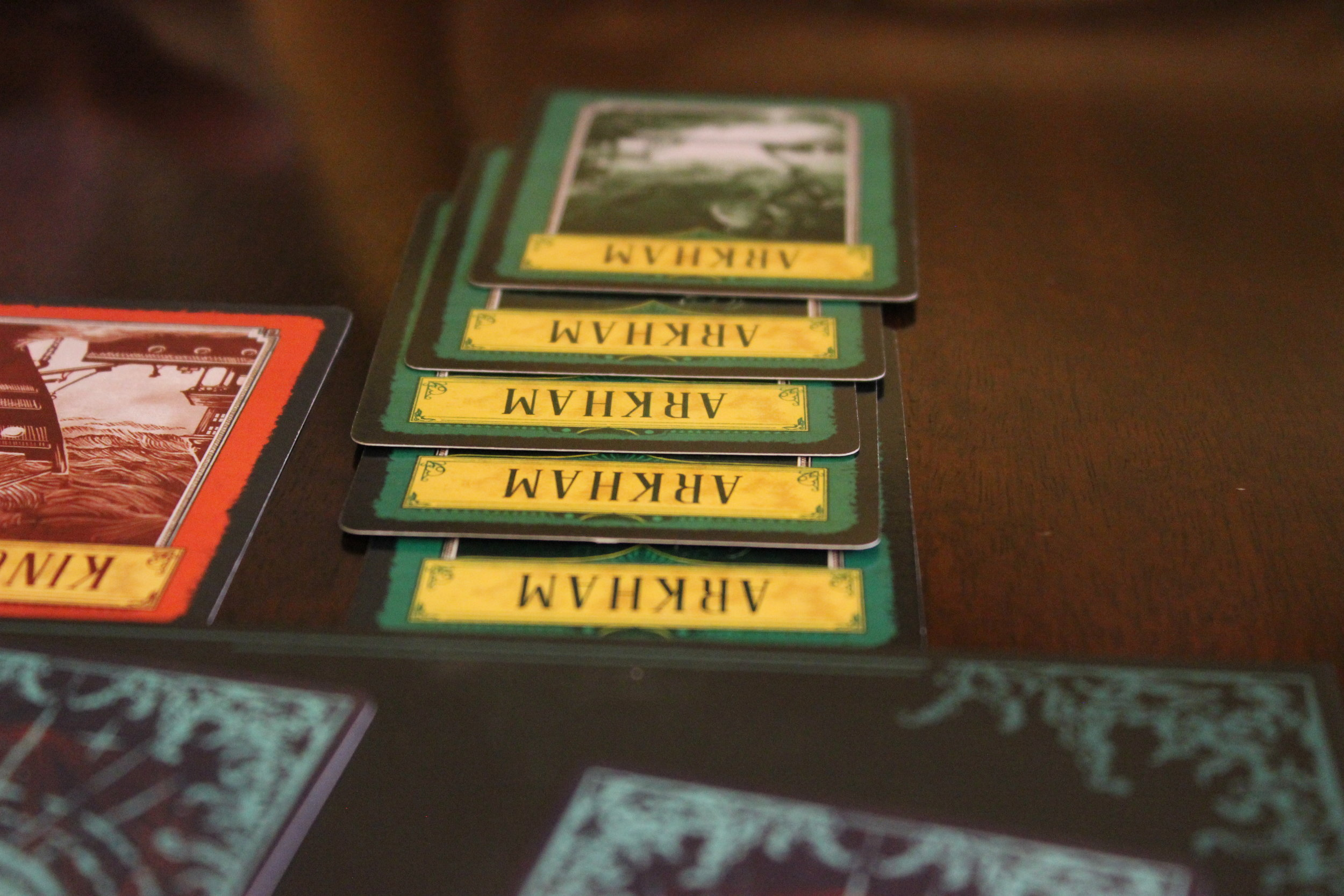 Enough cards to close Arkham's Gate