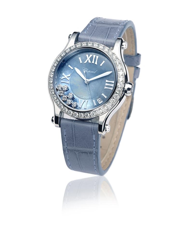 Chopard US Limited Edition 278559-3010 on blue strap.jpg