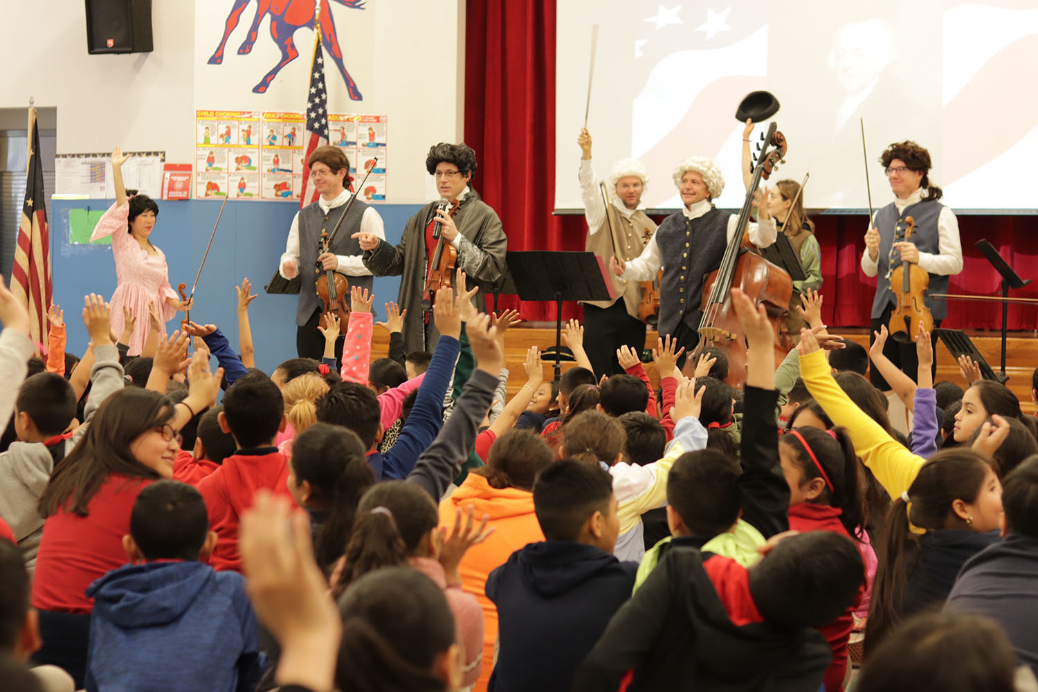 Mercury performs What's on Ben Franklin's iPod at Raul C Martinez Elementary sm.jpg