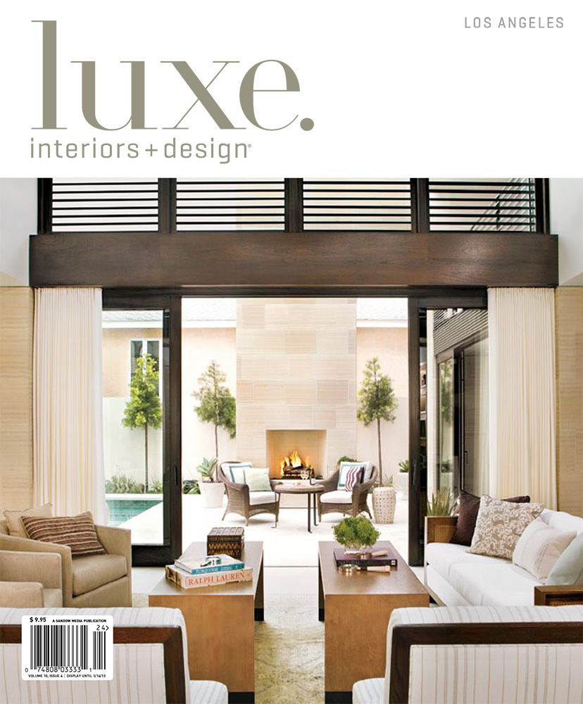 LUXE INTERIORS + DESIGN    Fall 2012    Family Style