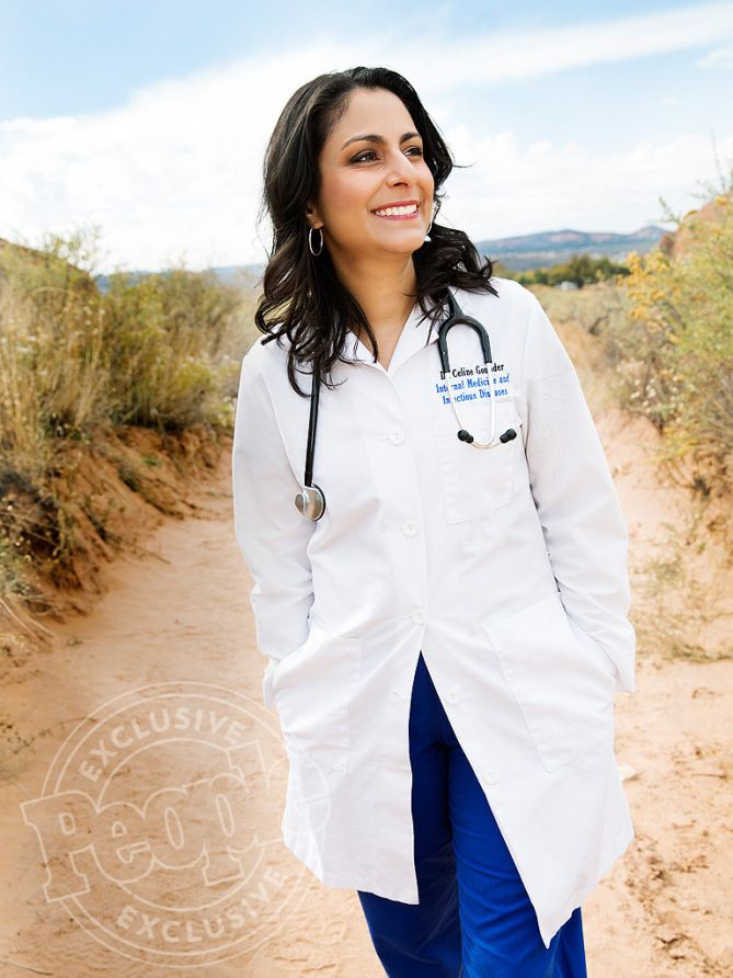 Dr. Celine Gounder - is a practicing HIV/infectious diseases specialist and internist, epidemiologist (aka disease detective), journalist and filmmaker.