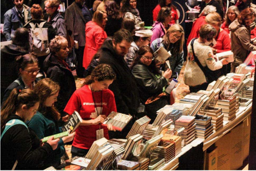 Figure 1.0 – Citizens at the Wordstock Festival in Portland Oregon (Wordstock, 2015).