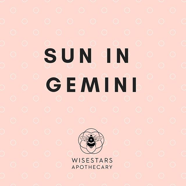 "TUESDAY  The Sun is now in Gemini and so is Mercury. That's right Mercury, ruler of Gemini, chatterbox, messenger to the gods, trickster, magician 🎩 and overall one ""wild and crazy"" planet. Things are going to be getting even more ""very interesting"", but first we have to navigate these next few days as the Moon 🌚 moves through Capricorn meeting up with Saturn, the South Node and Pluto.  We may not be feeling the famous Mercurial lightness as we venture through the very real, earthbound, seriousness of Capricorn. There's karmic dues to be paid, realities to confront and limits to be respected before we can truly experience the ""incredible lightness of being that is at the heart (mind) of Gemini. #suningemini #geminiseason #astrologersofinstagram"