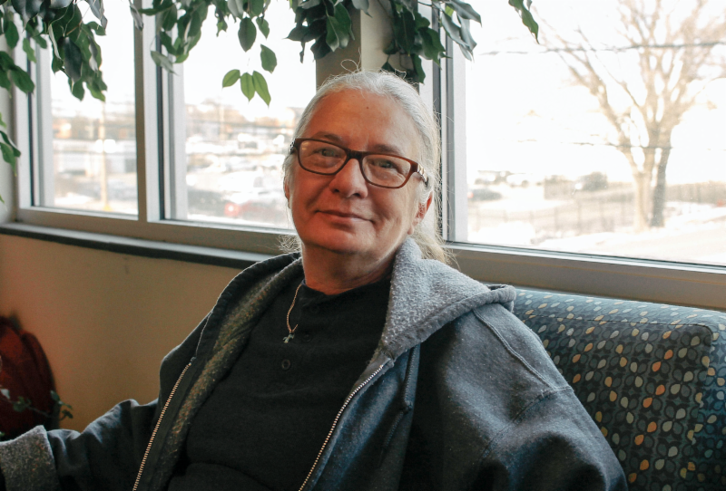 """Barbara Williams is a survivor, even when the odds are stacked against her. She worked in the textile plants for 25 years before joining her husband on the road as a truck driver for 10 years. When he died suddenly, her world fell apart.  She returned to work in a textile plant, only to lose her job as most of the mills closed in Rowan County. While looking for work, her van broke down and she could not afford to fix it. When Barbara's money ran out, she sought help at Rowan Helping Ministries' homeless shelter.  """"I was grateful it was here. It was the first time I had ever been homeless in my life,"""" she said. Encouraged by shelter staff, Barbara enrolled in the North Carolina Manufacturing Institute's program to become a certified production technician. Her age, her bad hip, and her lack of transportation and a computer were obstacles to her success, but she dealt with each challenge so that she could complete the class.  At the end of the program, Barbara not only received her diploma, she collected the top award as class valedictorian. Barbara's case manager had helped her get approved for disability income and she saved enough money to be able to move into an apartment earlier this year. Once she recuperates from hip replacement surgery, she wants to return to work doing something that will interest her. With odds now in her favor, we expect her to conquer that goal."""
