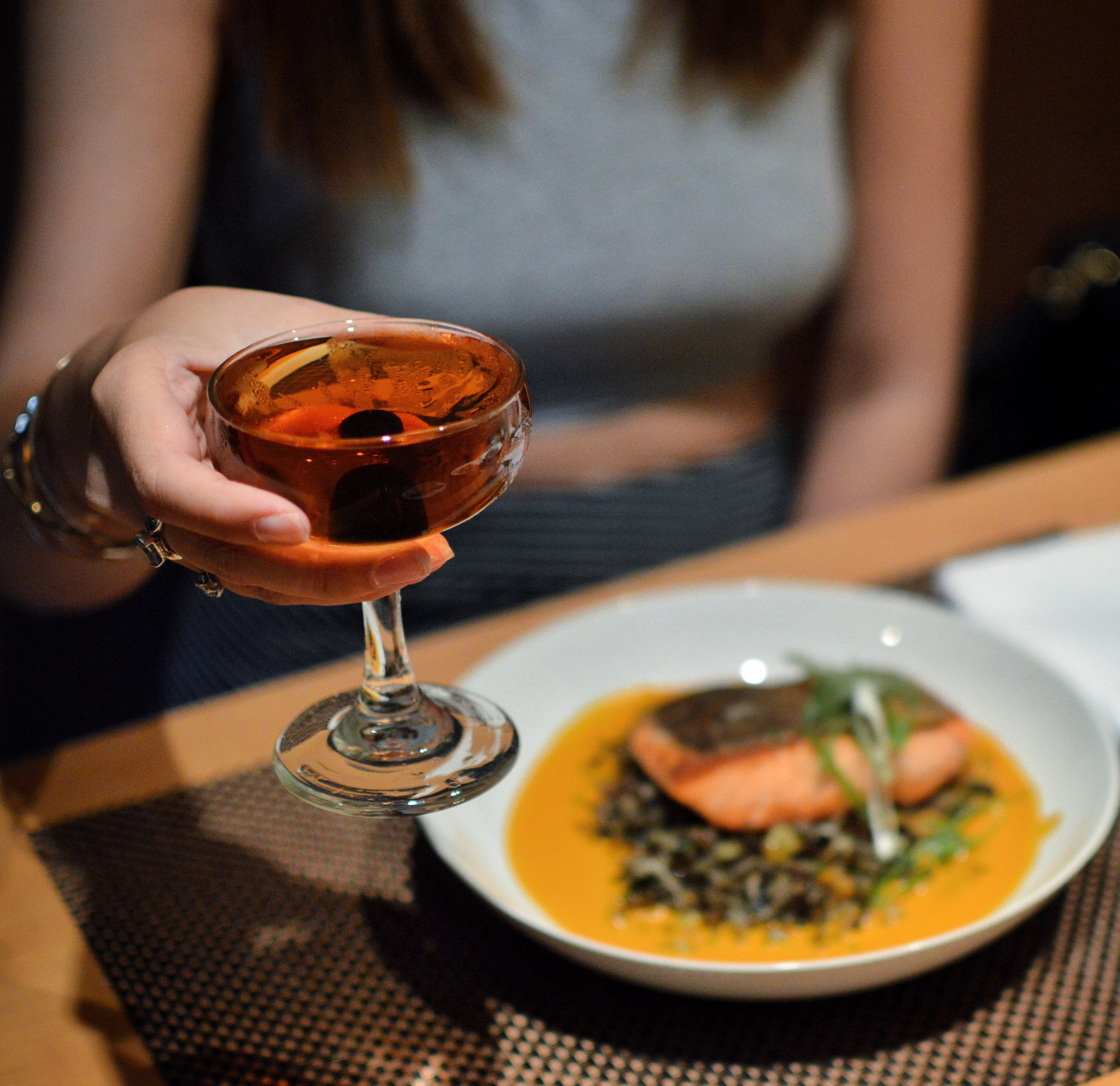 manhattan and salmon by kat pham polished kitchen.JPG
