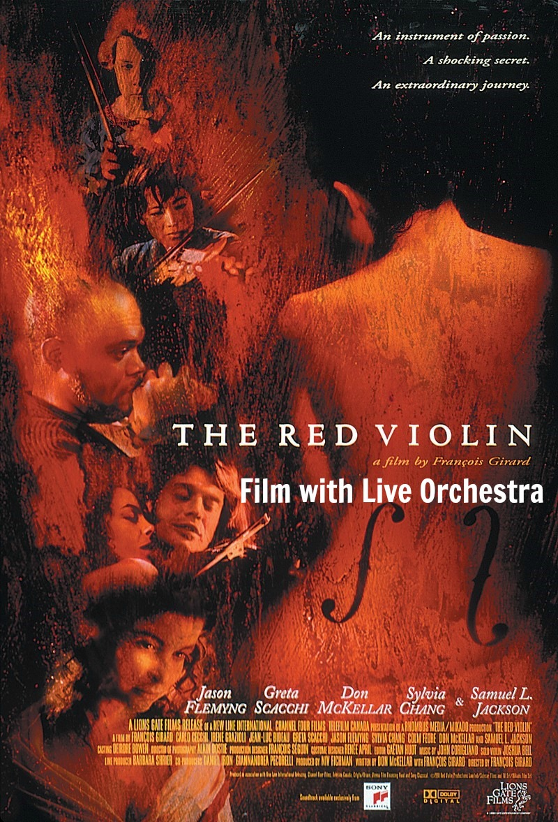 THE RED VIOLIN: FILM WITH LIVE ORCHESTRA