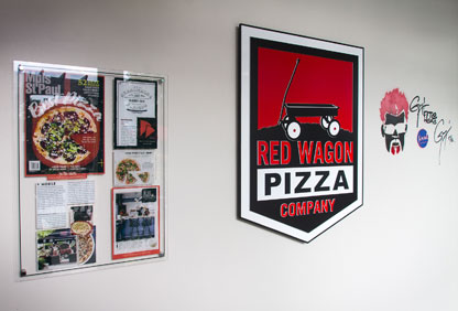 Red Wagon entry with diners drive-ins and dives