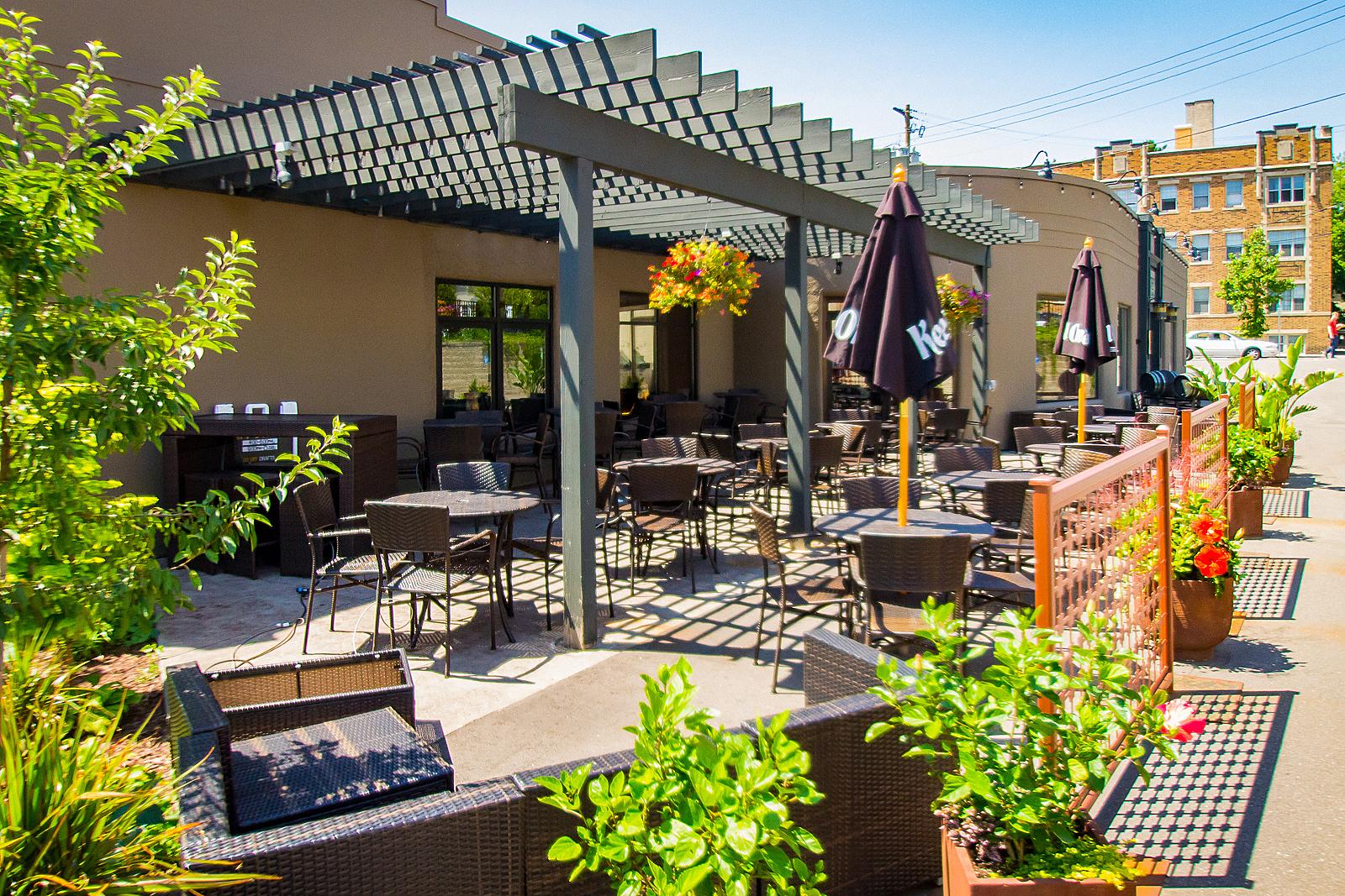 Bradstreet patio