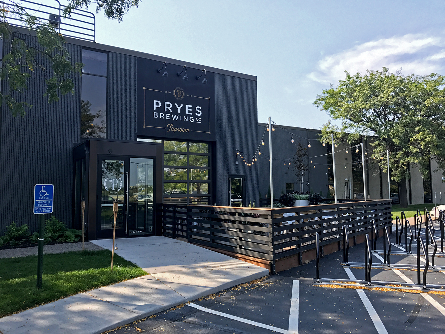 Pryes Brewing Exterior