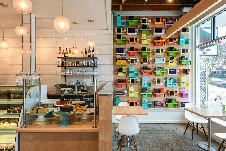 Lucky Oven Bakery's Easy-Bake Wall