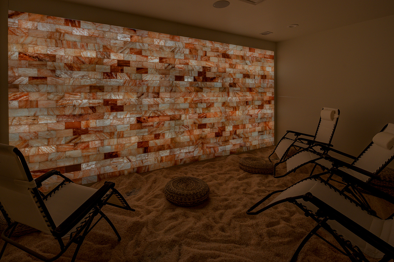 Salt Room at Salt Salon Spa Cafe by Little Box