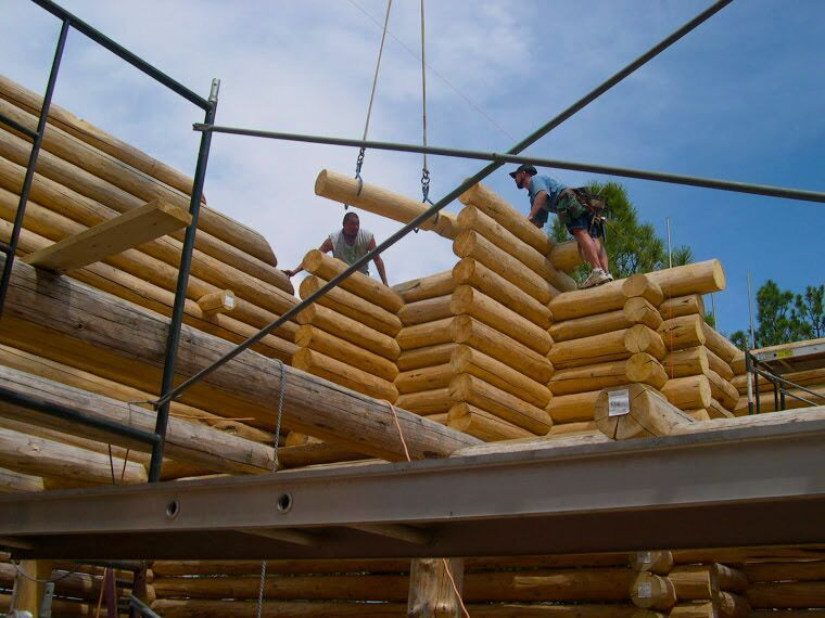 log home construction arizona