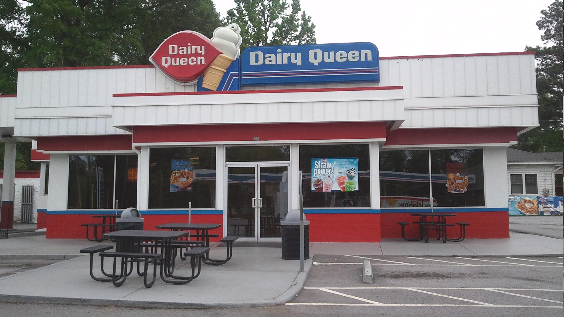 Carrollton, GA Dairy Queen -  BEFORE
