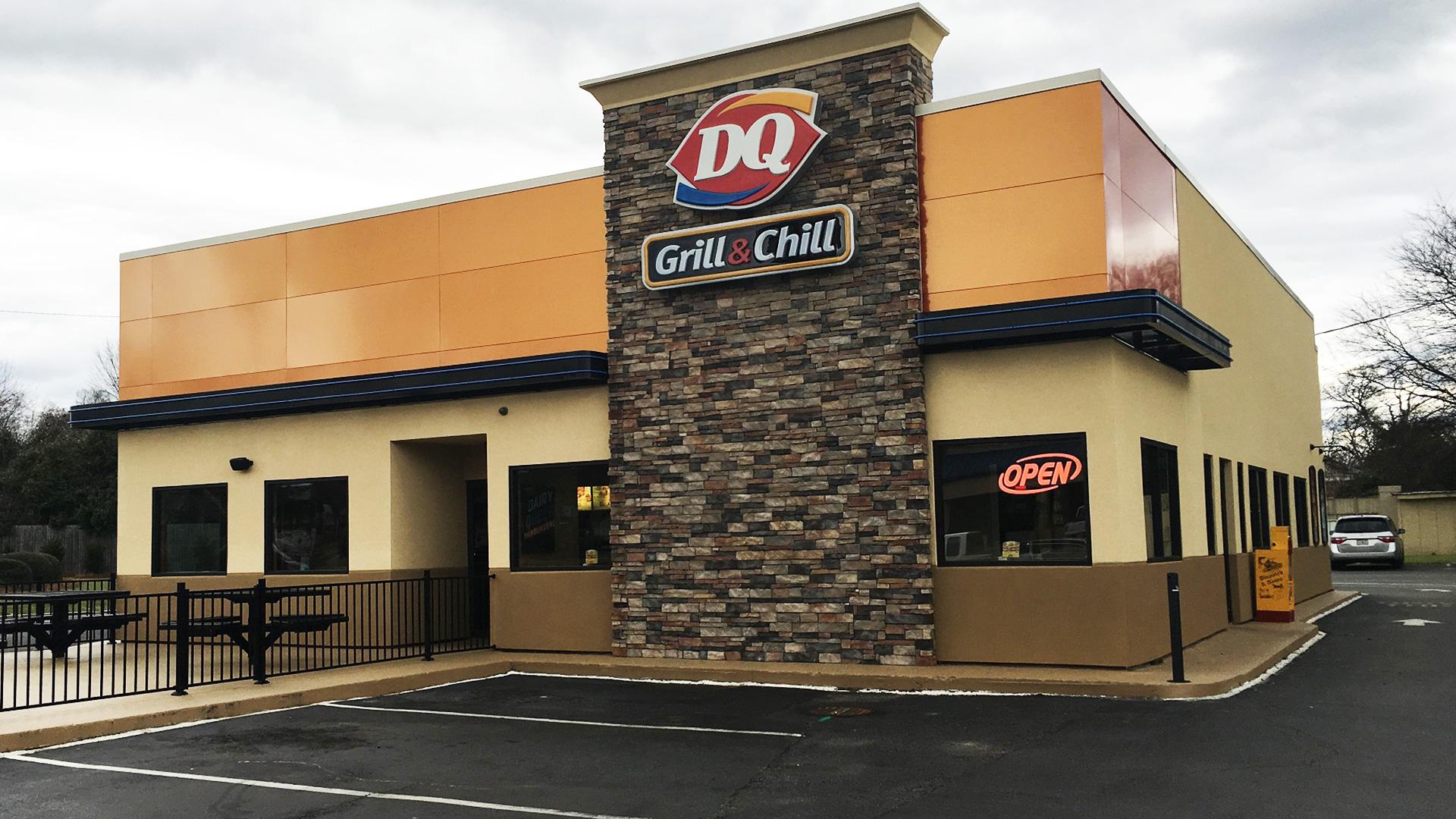 Hawkinsville, GA  Dairy Queen -  AFTER