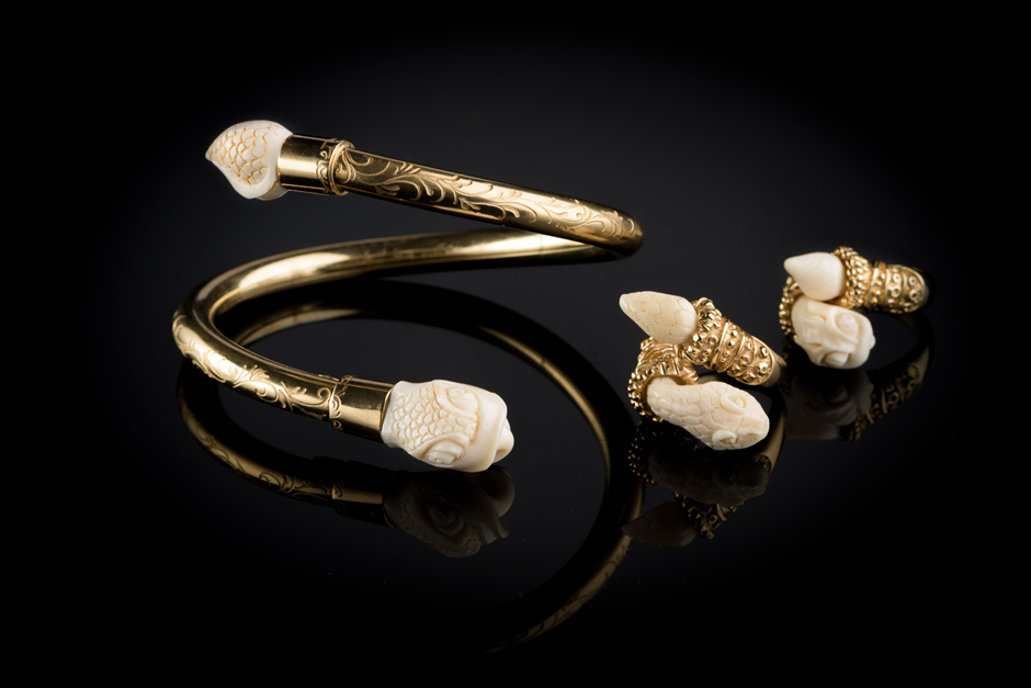 Nuvory bracelets and Rings - Mythology collection