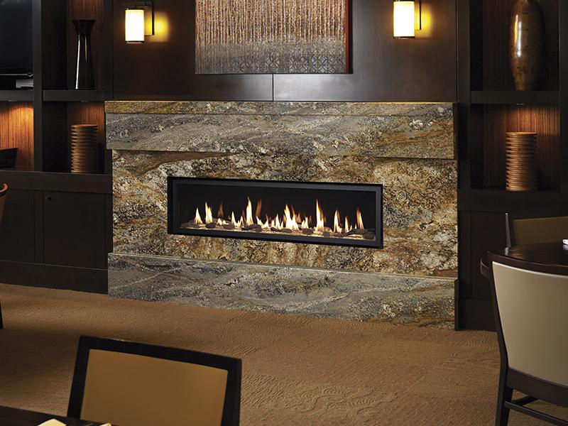 Fireplace Xtrordinair 6015 HO Linear Direct Vent Fireplace